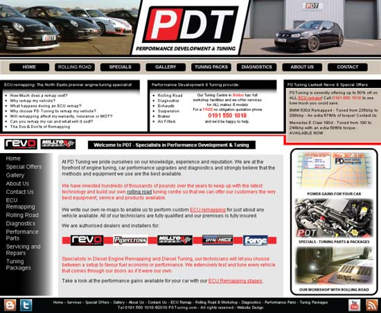 PD Tuning Homepage