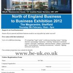 Join Us at the North of England B2B Exhibition 2012 – 9th Feb