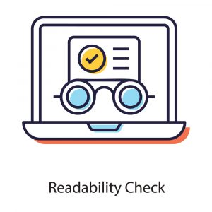 The How's and Why's of SEO Content Writing - Readability Check